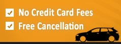 No credit card fees free cansellation